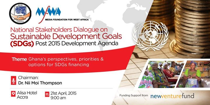 National Stakeholder Dialogue on post 2015-Sustainable Development Goals in Ghana