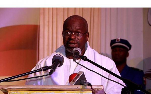 Hon. Chérif Sy, le Président du Parlement de Transition du Burkina Faso.