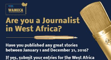 WEST AFRICA MEDIA EXCELLENCE CONFERENCE AND AWARDS – Call for Entries