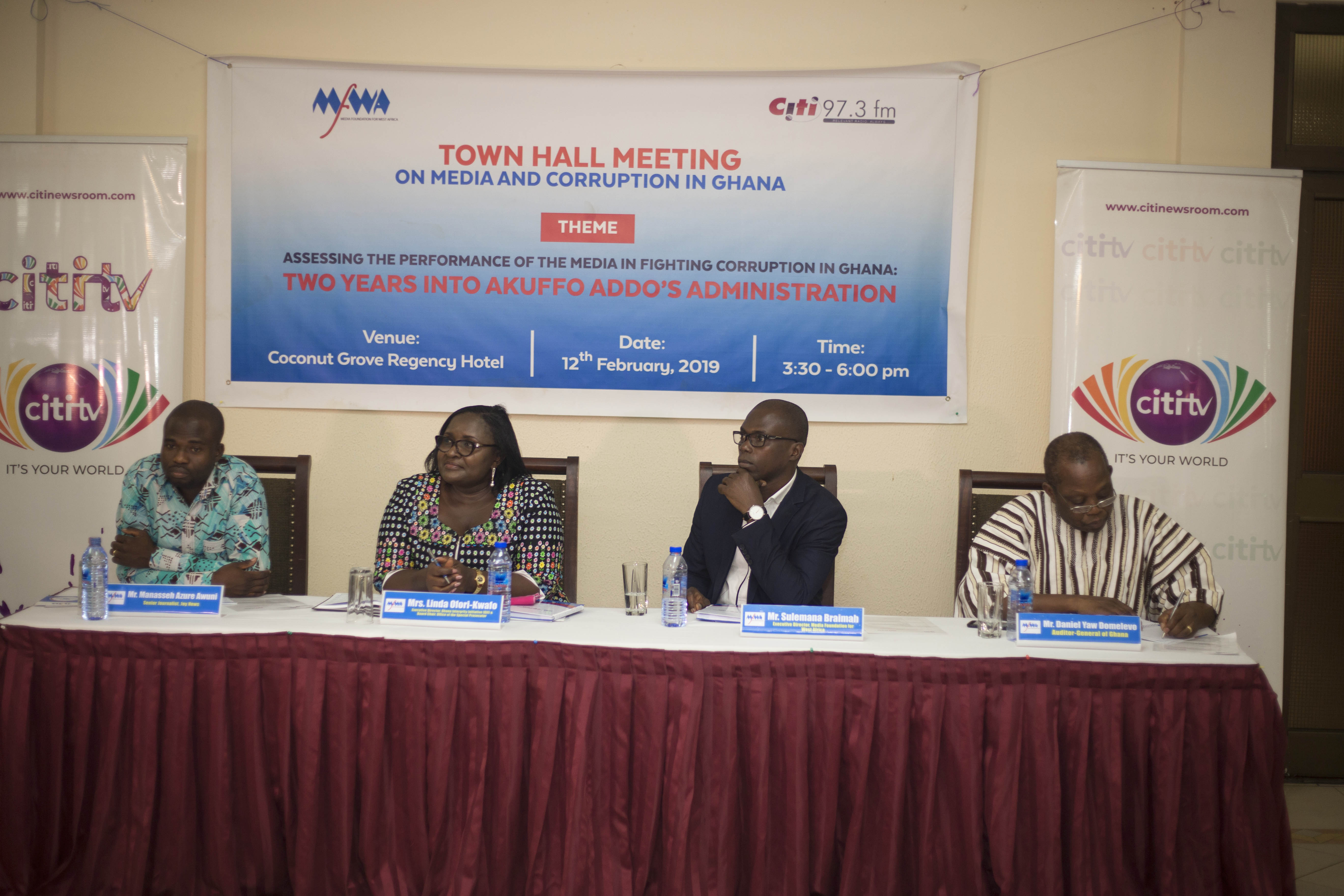Media's Role in Fighting Corruption in Ghana: A 10-Point