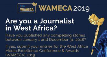 WAMECA 2019: Call for Entries