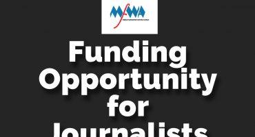 Funding Opportunity for Journalists in Burkina-Faso, Ghana & Senegal